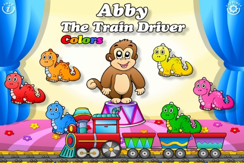 Abby's Train - Learn Colors! screenshot 1