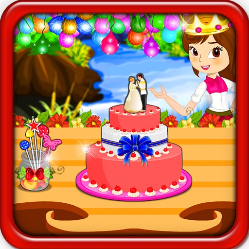Princess Wedding Cake Cooking iOS App