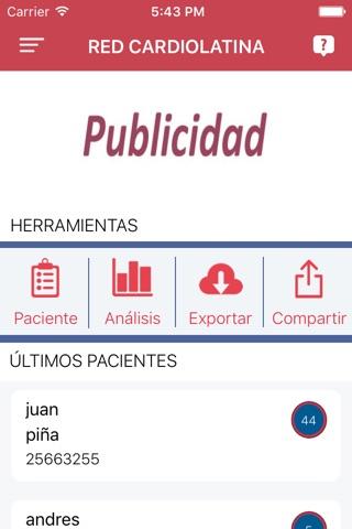 Red CardioLatina screenshot 3