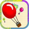 Doodle Balloon Skill Game