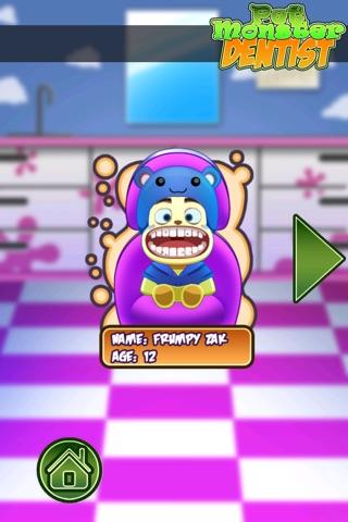 Pet Monster Dentist Kids Game - Rescue Cute Pet Monster's Teeth In A Race Against The Clock! screenshot 3