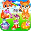 My kitty cat & fluffy pet care - hello kitties life story little kids girls games