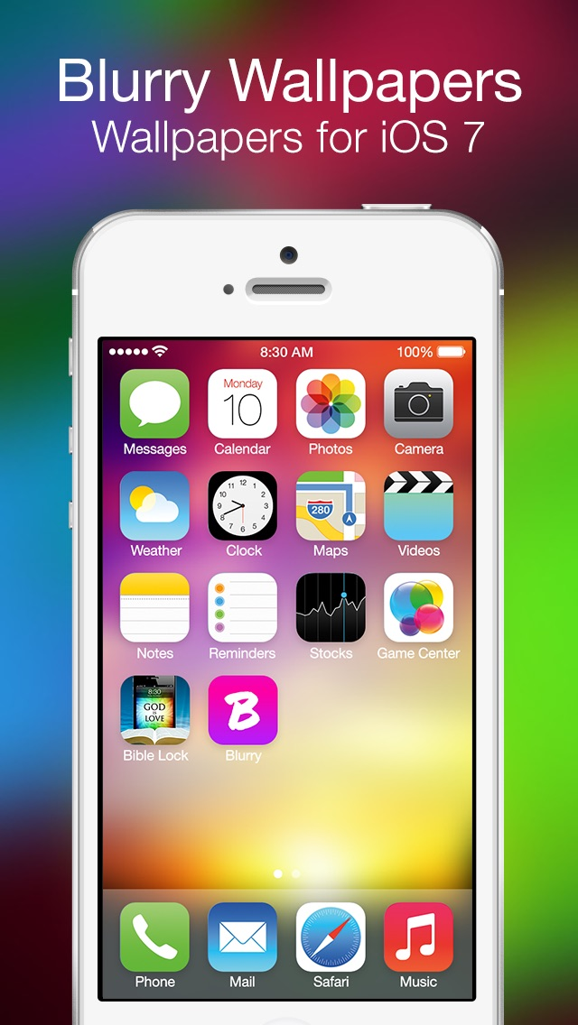 Blurry - Wallpapers for iOS 7Screenshot of 1
