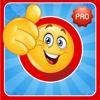 Cartoon Emoji Photo Editor Pro - Masquerade your Pics with Smiley Emoticon Accessories