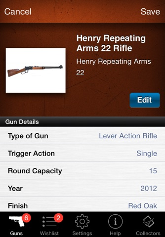 Gun Firearm Ammo Database screenshot 2