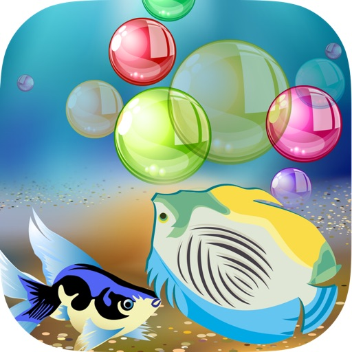 A Awesome Wild Big Fish Bubble Match Puzzle Fun Pro iOS App