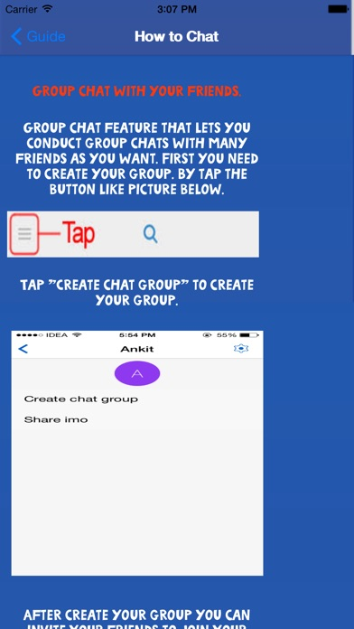 Screenshots of Guide for imo Video Chat Call for iPhone
