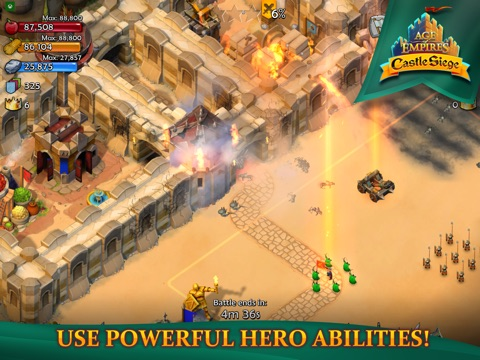 Скачать игру Age of Empires: Castle Siege