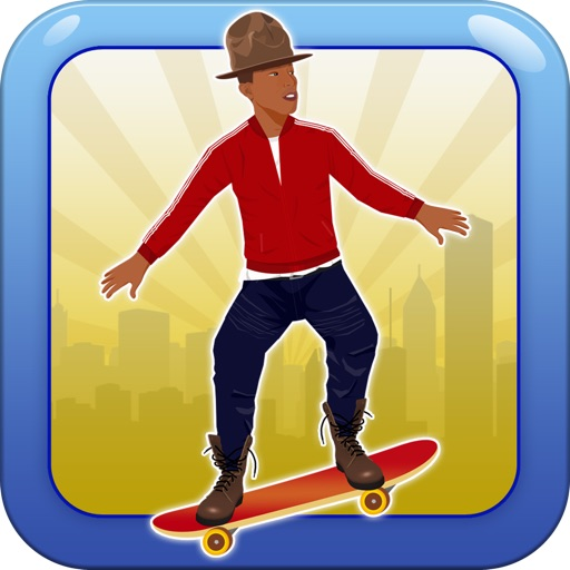 skateboard - jump, move, jack, stack your paper and make it rain