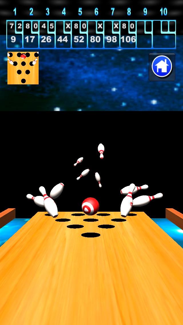 3Dボウリングゲームのスクリーンショット2