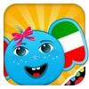iPlay Итальянский: Дети познают мир -развивающие игры для малышей - язык для детей
