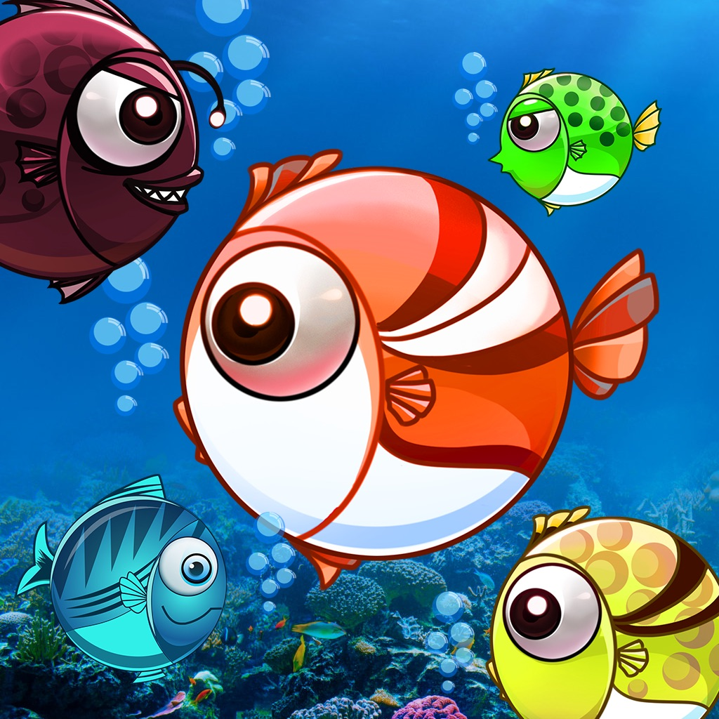 Fish war eat 39 em all feeding clumsy spore by hungry dot for Battle fish 2