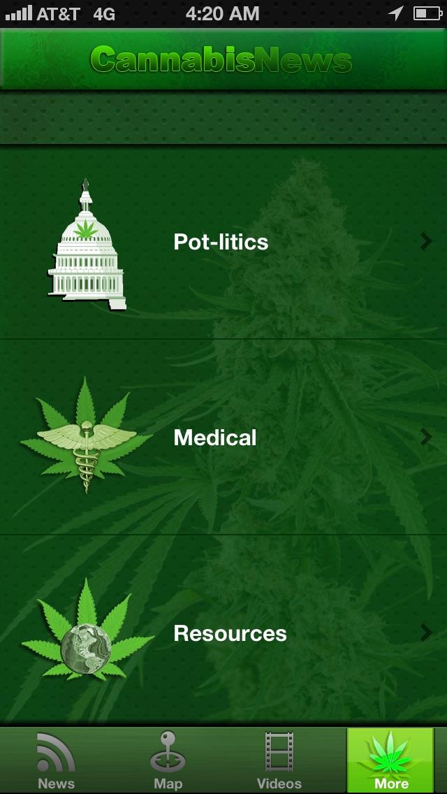 Cannabis News Pro screenshot1