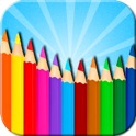 Kids Coloring Doodle: Coloring Book + Doodle Pad 2in1 icon