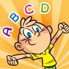 ABC Day! Gioco per bambini per imparare di scrivere le parole e l'alfabeto in inglese