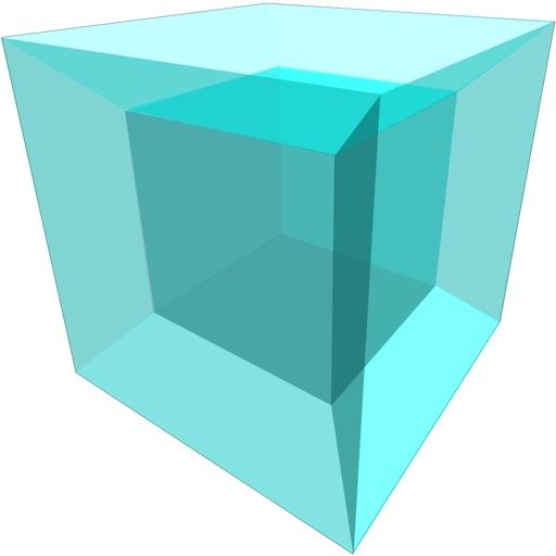 Tesseract: a fourth dimension game iOS App