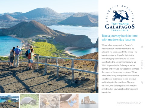 Celebrity's Galapagos screenshot 1