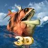Piranha Massiven Angriff 3D - Jagen die Fleisch Raubtier in der Tiefe des Amazonas