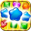 Gummy Fruit Sweet Deluxe mania : Match 3 Free Game