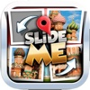 Slide Me Puzzle : Landmark of The World Picture Characters Quiz Free Games