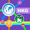 Hong Kong City Maps - Discover HKG with MTR, Bus, and Travel Guides. Aplikácie zadarmo pre iPhone / iPad