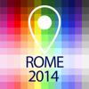 Carte déconnecté Rome - Guide, attractions et transports