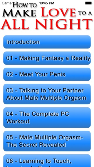 How to Make Love to a Woman Screenshot
