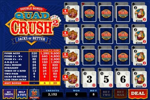 Quad Crush Squared Double Bonus screenshot 2