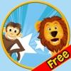 Wettbewerb für Dschungeltiere - kostenlos spielen