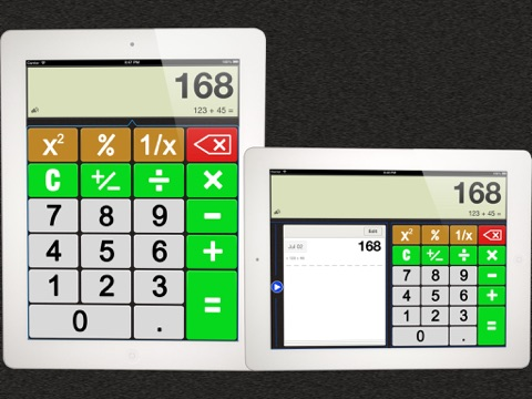 Screenshot #1 for iEasily Calculator