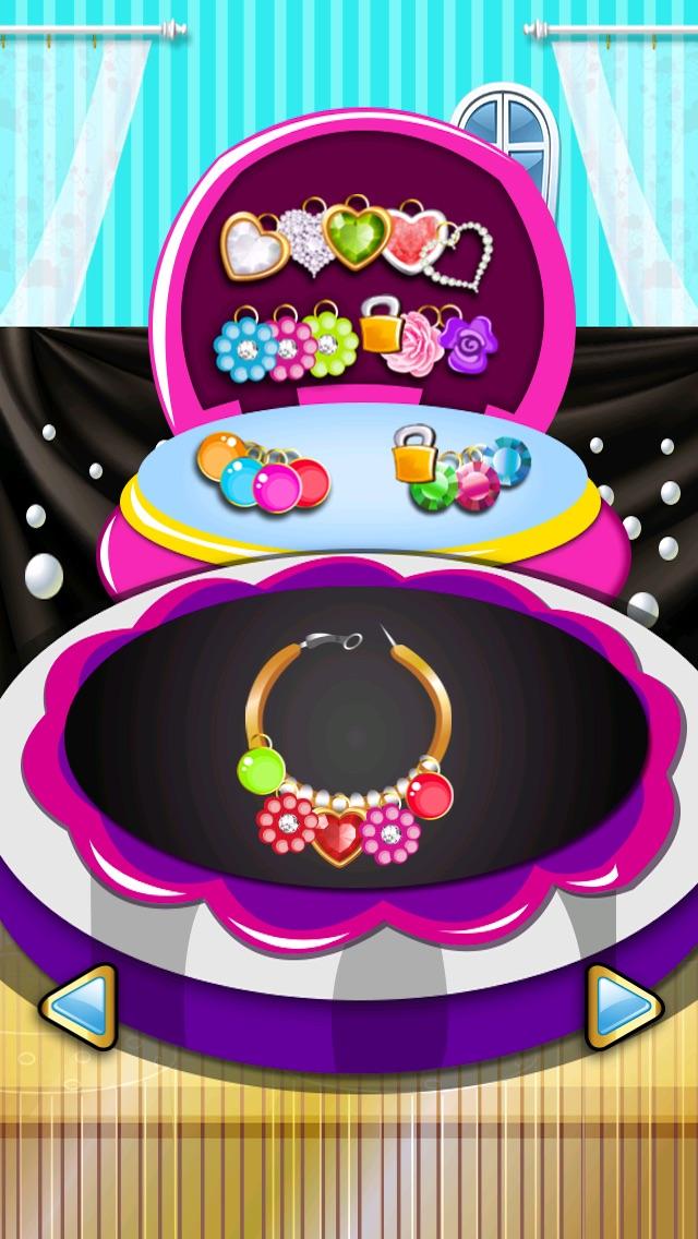 宝石化粧メーカー-小さな妖精の人魚の女の子-無料シックなファッションにドレスアップ ゲームのスクリーンショット3