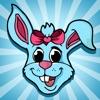 活躍 圖畫書 復活節兒童的:用多張圖片喜歡雞蛋花,兔子,兔子,籃子等等。遊戲學習:如何畫一幅畫