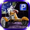 3D Moon Base Parking PRO - Full Space Explorer Simulator Version