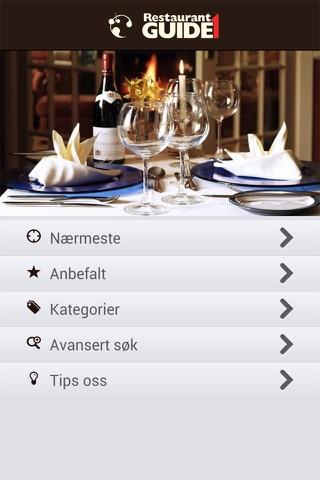 Restaurantguide1 screenshot 1