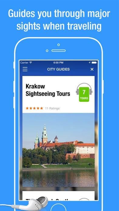 iPhone — krakow travel app 2
