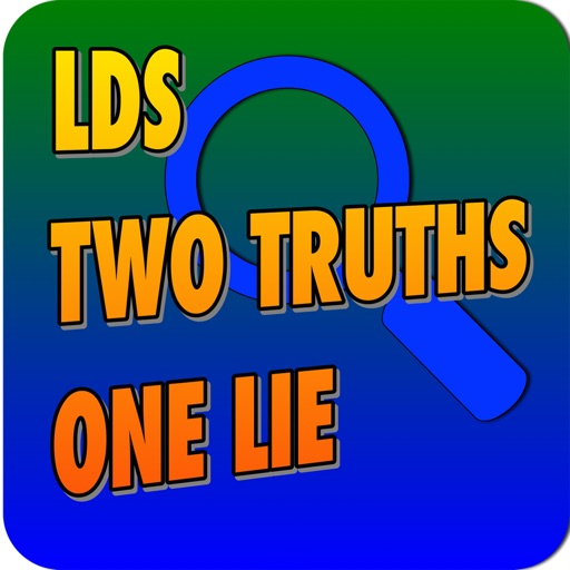 LDS Two Truths One Lie iOS App