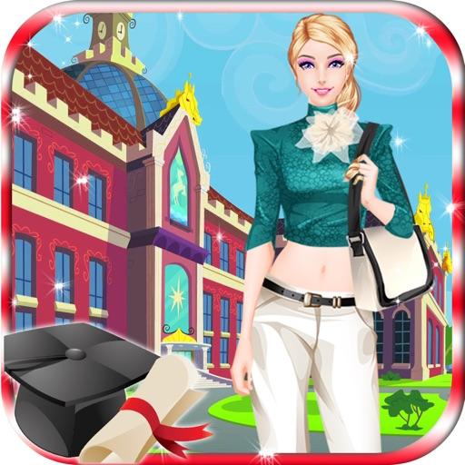 My High School Fashion Dressup Salon iOS App