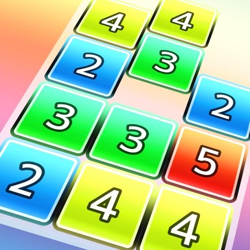 数字の落ちものパズルゲーム DropNumber+ 脳トレ無料ぷよぷよ好きに人気