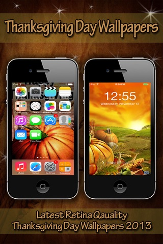 Thanksgiving HD Wallpapers for iPhone5S/iPhone5C/iPad screenshot 1