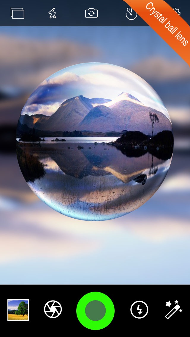 download Fisheye Plus Free - Lomo Fisheye Camera with Crystal ball Lens and Color Flashlight apps 3