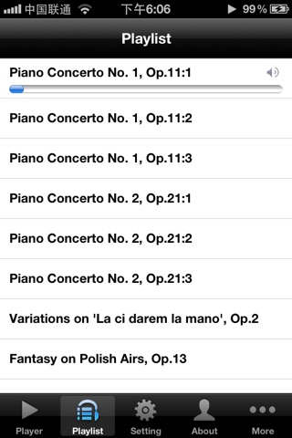 Chopin Piano Concertos screenshot 2