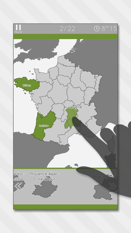 Enjoy learning france map puzzle by digital gene by digital gene enjoy learning france map puzzle gumiabroncs Image collections