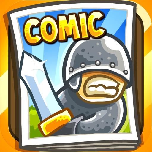 Kingdom Rush: The Comic iOS App