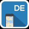 Alemania mapa offline, guía, clima, hoteles. Libre GPS navegación.