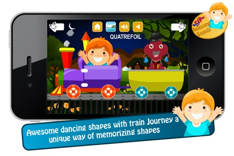 Toddlers Shapes Train screenshot 3