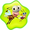 Flying busy bees - a fun free family game for kids nono