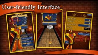 Knights of Bowling Alley Lite :人気のクールなボーリングゲーム - 子供のための最高の楽しみトップ10のピンボールゲーム - 病みつきと面白い3Dスポーツ無料アプリ - カジュアル多人数物理アプリのスクリーンショット1