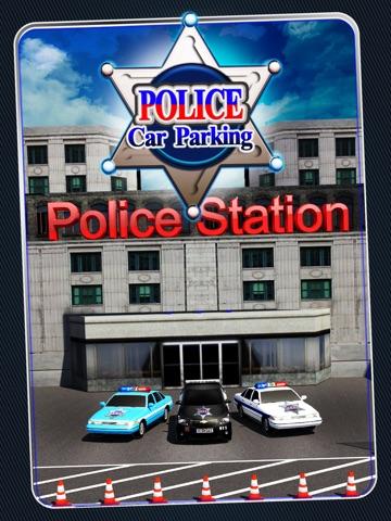 Screenshot #4 pour Police Car Parking 3D : Awesome Cop Training Simulator
