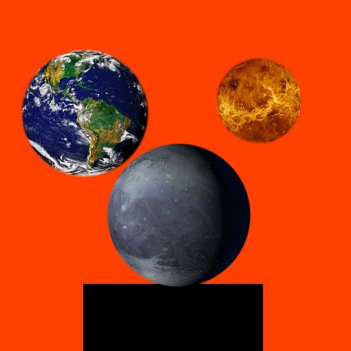 Bounce Planets iOS App