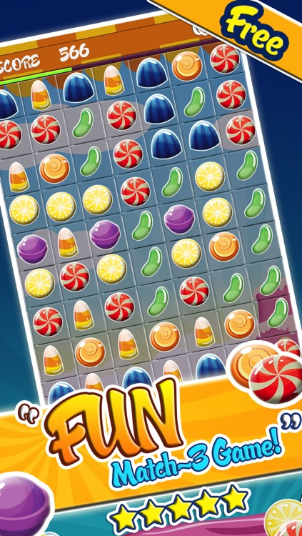 Candy Games Mania Puzzle Games - Fun Candies Swapping Game For